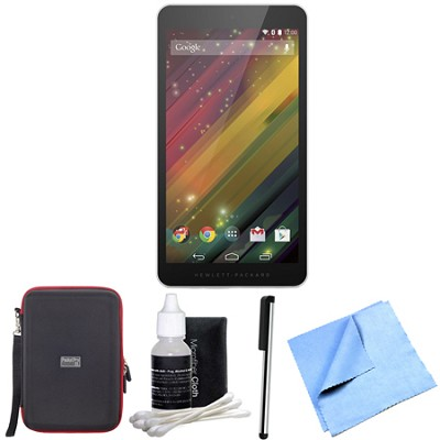 7 G2-1311 J4Y28AA#ABA 7-Inch 8 GB Silver Tablet Bundle