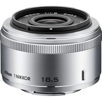 1 NIKKOR 18.5mm f/1.8 (Silver) (3325) (Certified Refurbished)