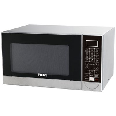 RMW1182 1.1 CU Ft Stainless Steel Design Microwave W/ Grill Feature