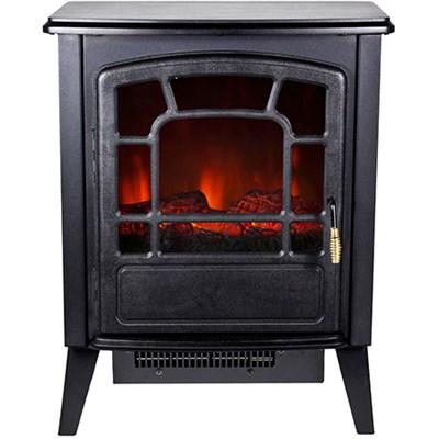 Bern 1400W Freestanding Electric Fireplace in Black - RSF-16982