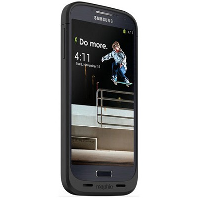 Juice Pack for Samsung Galaxy S4 - Black