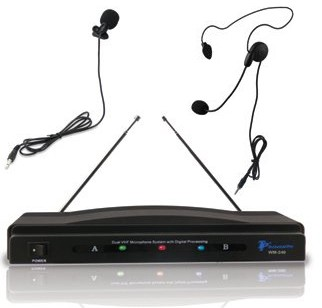 WM-240 Professional VHF Wireless Microphone System
