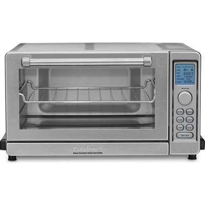 TOB-135 Deluxe Convection Toaster Oven Broiler - Brushed Stainless