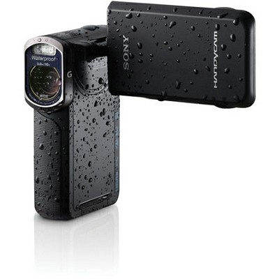 HDR-GW77V/B HD 20.4 MP Waterproof, Shockproof, Dustproof Camcorder (Black)