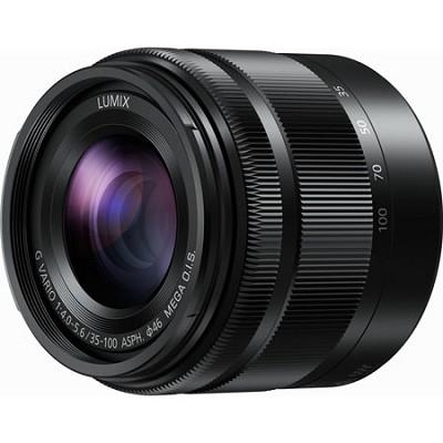 LUMIX G H-FS35100K VARIO Ultra Compact Zoom 35-100mm / F4.0-5.6 Lens