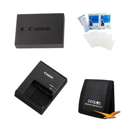 Power Travel kit for the Canon Rebel Eos T3 & T5