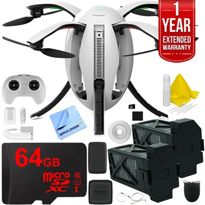 PowerEgg Drone 4K UHD Camera with Maestro Controller (PEG10) and Extra Battery