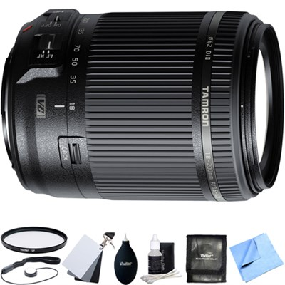 18-200mm Di II VC All-In-One Zoom Lens for Canon Mount w/ Accessory Bundle