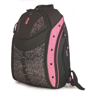 Express Backpack - Notebook carrying backpack - 16` - pink ribbon