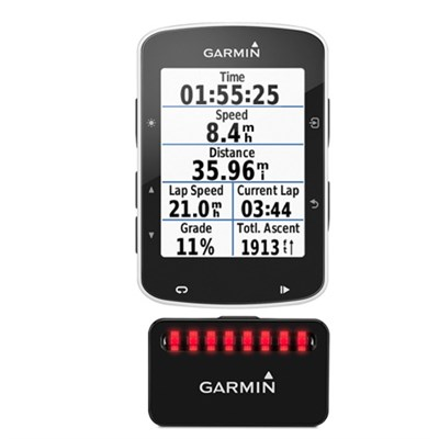 Edge 520 Bike GPS and Tail Light Bundle