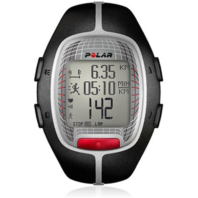 RS300X Heart Rate Monitor Watch (Black) - OPEN BOX