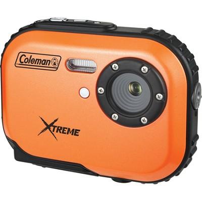 Mini Xtreme 5.0 MP Digital Video / Still Camera Anti-Shake & Waterproof (Orange)