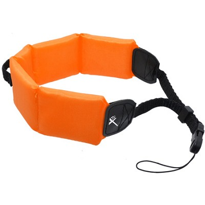 Orange Floating  Foam Wrist Strap for Camera & DSLR