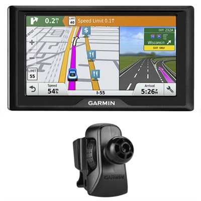 Drive 60LMT GPS Navigator (US and Canada) 010-01533-06 w/ Garmin Air Vent Mount
