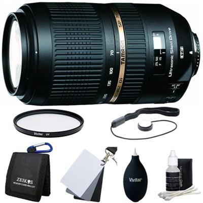 SP AF 70-300mm Di VC USD Lens Kit For Minolta & Sony