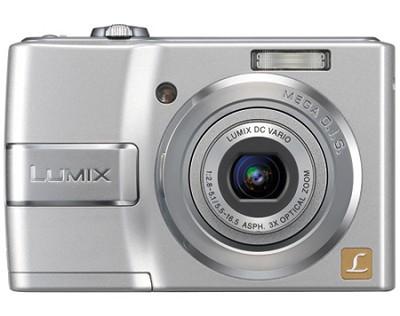 DMC-LS80S (Silver) Lumix 8 Megapixel Digital Camera w/3x Optical Zoom & 2.5` LCD