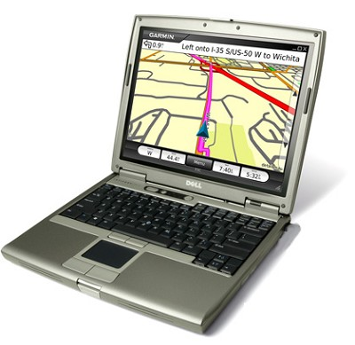 Mobile PC Navigation for your laptop or UMPC