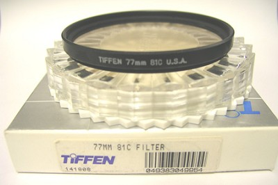 77mm 81C Filter