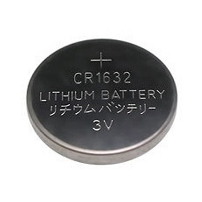 3 Volt Lithium Button Cell Watch Battery ECR1632BP (CR1632)