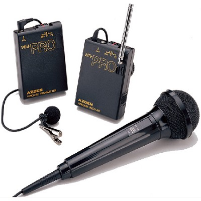 WMS PRO LAV and WIRED HH MIC