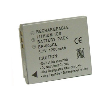 CGA-S005 - 1200mAh Lithium Battery for DMC-FX8/FX9 and DMC-LX1