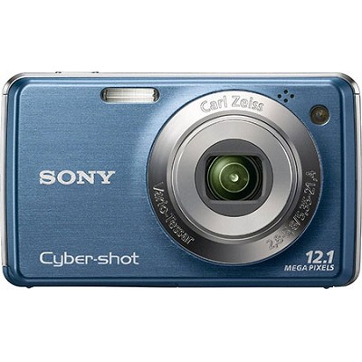 Cyber-shot DSC-W230/L 12.1 MP Digital Camera w/ 3.0` LCD (Teal) - OPEN BOX