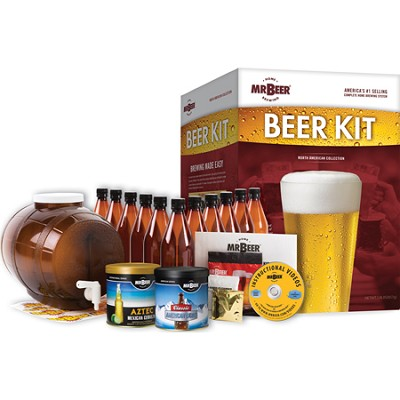 North American Collection Bonus Home Brew Beer Kit