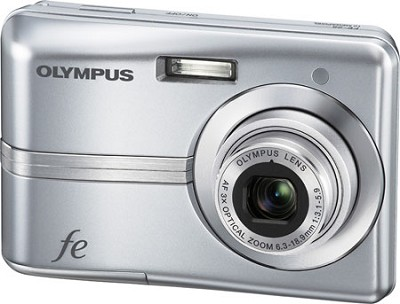 FE-25 10MP 2.4` LCD Digital Camera (Silver)