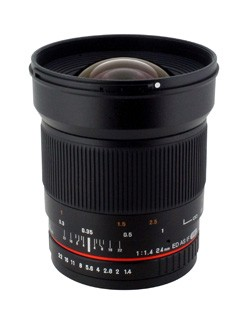 24mm F1.4 Aspherical Wide Angle Lens for Nikon with Automatic Chip