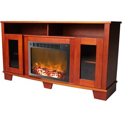 59.1 x17.7 x31.7  Savona Fireplace Mantel with Insert