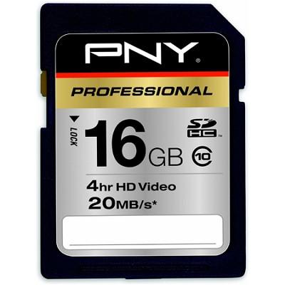 16 GB Flash Memory Card Hi-Speed SDHC Class 10