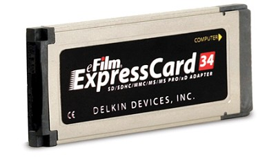 ExpressCard 34 6-in-1 card adapter