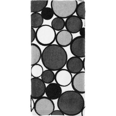 Printed Geometric Kitchen Towel - Gray