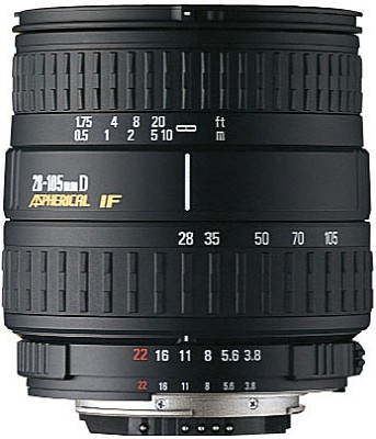 28-105mm f/3.8-5.6 UC-III Aspherical IF WideTelephoto Zoom Lens for Canon EOS