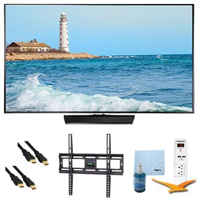 40` Slim Full HD 1080p LED Smart TV 60Hz Plus Mount & Hook-Up Bundle - UN40H5500