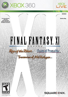 Final Fantasy XI For Xbox 360 (Sensible special only last item)
