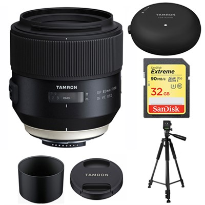 SP 85mm f1.8 Di VC USD Lens for Sony Sony Sony A-Mount w/Lens Mount Kit