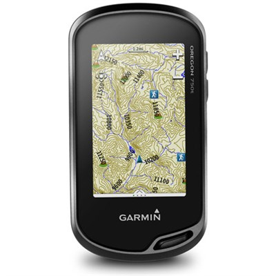 Oregon 750t Handheld GPS w/ Built-In Wi-Fi, Camera & Bluetooth - TOPO U.S. 100K