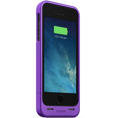 Juice Pack Helium Special Edition Snap Pack Battery Case for iPhone 5/5s -Purple