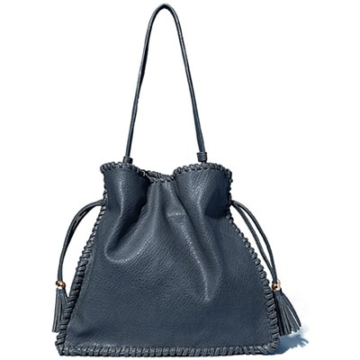 Mae Shoulder Bag - Blue