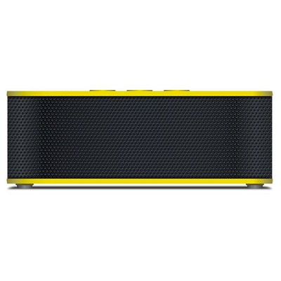 SoundBrick Plus NFC Bluetooth Portable Wireless Stereo Speaker - Yellow