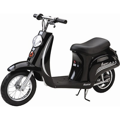 Pocket Mod Miniature Euro Electric Scooter (Vapor Black)