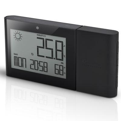 Wireless Weather Station in Black - BAR266B
