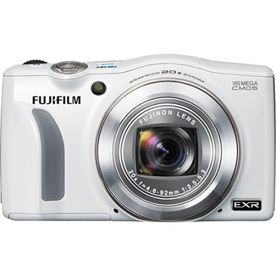 FinePix F750EXR 16MP EXR CMOS Digital Camera (White)