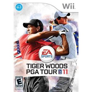 Tiger Woods PGA Tour 11 for Wii