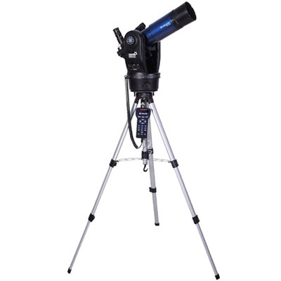 ETX80 Observer Achromatic Refractor Telescope w/ Tripod, Eyepieces, and Backpack