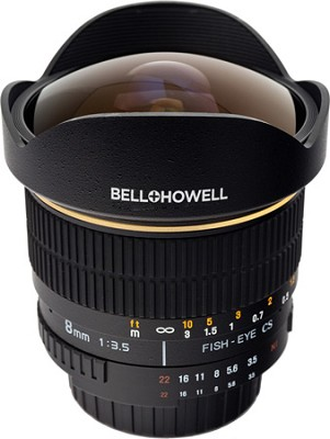 8mm f/3.5 Aspherical Fisheye Lens for Pentax DSLR Cameras