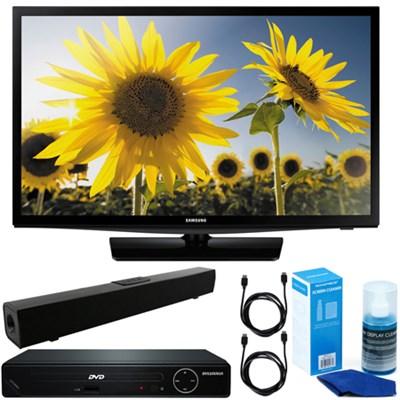 24` 720p Smart LED TV Clear MR 120 +HDMI DVD Player +Bluetooth Sound Bar