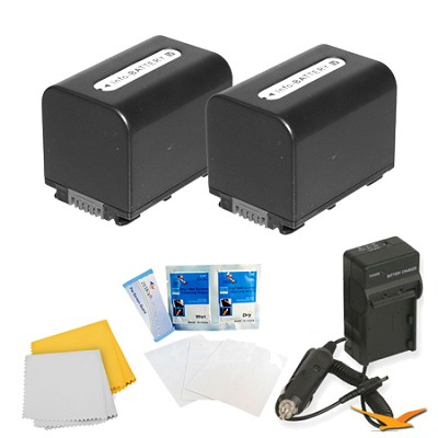 2 Pack Battery Kit For Sony CX240,CX330,PJ430