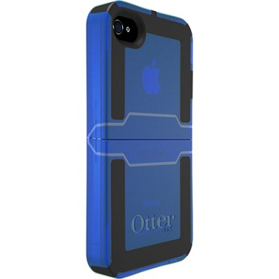 Reflex Series Case for iPhone 4/4S - Retail Packaging - Glacier Blue Transparent